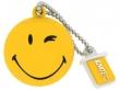 Emtec SW100 8GB smiley sárga pen drive