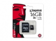 Kingston Micro SDHC Class10 16GB + adapter