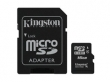 Kingston Micro SDHC Class4 16GB + adapter