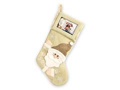 ZEP TT44 karácsonyi zokni arany