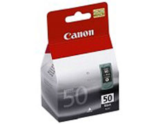 Canon PG 50 nyomtatófej + fekete inkjet festékpatron