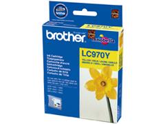Brother LC970Y sárga inkjet festékpatron