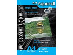 Pixeljet Aquarell A4/10 210 g inkjet fotópapír