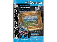 Pixeljet Art canvas A4/5 350 g vászon inkjet fotópapír