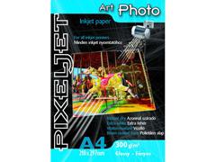 Pixeljet Art Photo A4/10 300 g fényes inkjet fotópapír