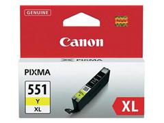 Canon CLI-551Y XL / sárga inkjet festékpatron