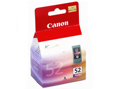 Canon CL 52 nyomtatófej + színes photo inkjet festékpatron