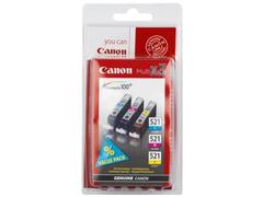 Canon CLI 521 CMY Multi-Pack inkjet festékpatron