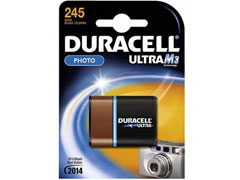 Duracell DL 245 fotóelem