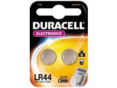Duracell LR 44 elem