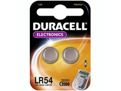 Duracell LR 54 elem
