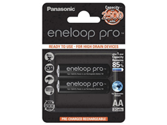 Eneloop 2db 2500 mAh Pro 2 ceruza akkumulátor