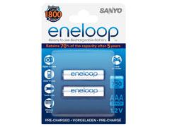 Eneloop 2db 800mAh micro akkumulátor