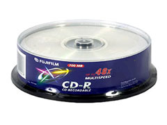 Fuji CD-R80 Slim * 10 írható CD