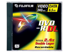 Fuji DVD-R Double Layer írható DVD