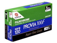 Fuji Provia RDP III 100 F 120 Lejárt fotófilm