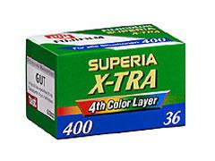 Fuji Superia 400 135/36 fotófilm