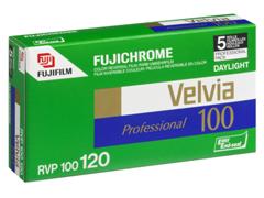 Fuji Velvia 100 120 fotófilm