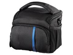 Hama Nashville 110 fekete/kék fényképezõgép táska