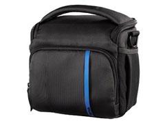Hama Nashville 130 fekete/kék fényképezõgép táska