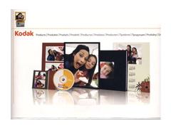 Kodak Kiadói tasak 15*20 + CD tartó