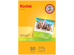 Kodak A6/50 180g Glossy inkjet fotópapír