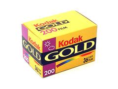 Kodak Gold 200 135/36 fotófilm