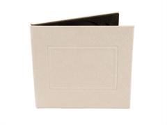 Crea Case 1 lemezes kristály-fehér DVD tok
