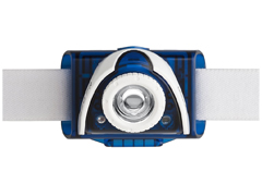 LED Lenser SEO7R kék fejlámpa