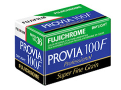 Fuji Provia RDP III 100 F 135/36 fotófilm