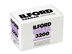 Ilford Delta 3200 135/36 fotófilm