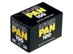 Ilford Pan 100 135/36 fotófilm