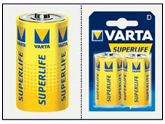 Varta R20 góliát superlife elem