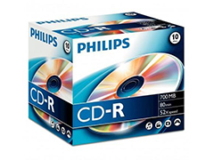 Philips CD-R80 52x írható CD
