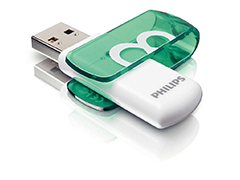 Philips Vivid 8GB USB2.0 pen drive