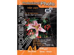 Pixeljet Professional A4/10 195 g satin inkjet fotópapír