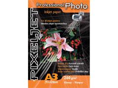 Pixeljet Professional A3/25 260g fényes inkjet fotópapír