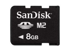 Sandisk MemoryStick Micro 8GB memóriakártya