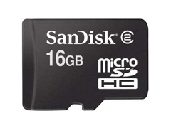 Sandisk Micro SDHC 16GB memóriakártya