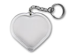 ' Fényképes szívalakú kulcstartó 50db/cs