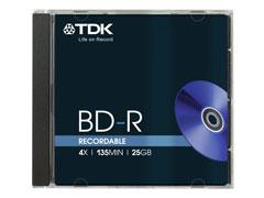 TDK BD-R25 25GB 4x írható Blu-Ray lemez