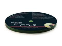 TDK CD-R * 5 CakeBox írható CD