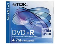 TDK DVD-R írható DVD