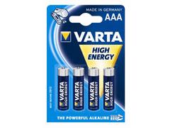 Varta High Energy mikro 4 elem