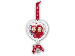 ZEP WA11 szív alakú karácsonyfa dísz