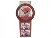 KPH 3286 barna-piros színû óra