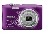 Nikon Coolpix A100 lineart lila digitális fényképezõgép