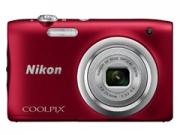 Nikon Coolpix A100 vörös digitális fényképezõgép