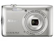Nikon Coolpix A300 ezüst  digitális fényképezõgép