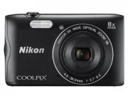 Nikon Coolpix A300 fekete  digitális fényképezõgép